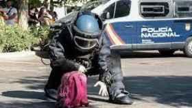 Agente especialista TEDAX de la Policía Nacional.