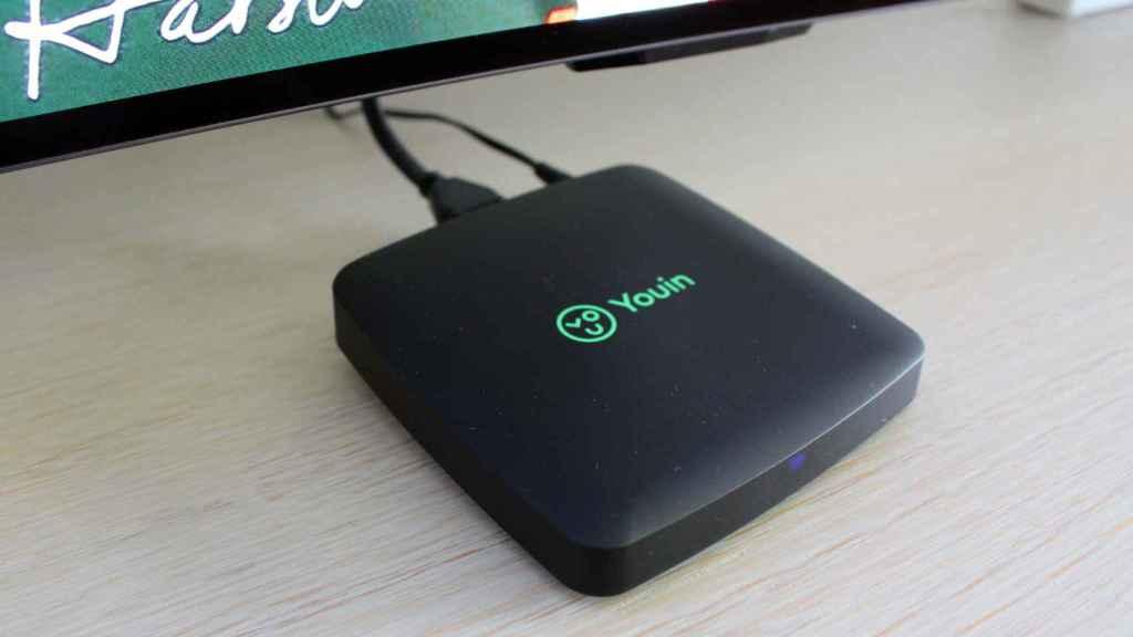 Con el receptor Android TV de Youin se puede ver Netflix en cualquier monitor.