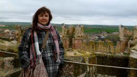 La cooperante española Juana Ruiz, encarcelada en Israel desde el pasado 13 de abril.