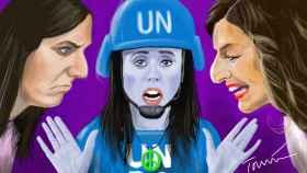 Irene Montero, un casco azul en Podemos para evitar el choque entre Ione Belarra y Yolanda Díaz