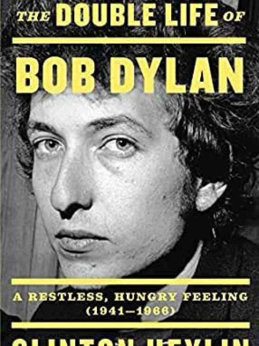 Portada de la ultima biografía de Dylan.