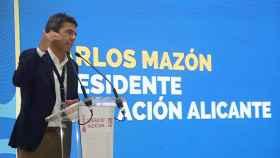 Carlos Mazón, presidente de la Diputación de Alicante, en Fitur.