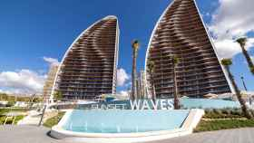 Sunset Waves, una de las promociones que TM está terminando en Benidorm.