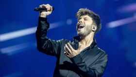 Blas Cantó ha interpretado 'Voy a quedarme' en la final de Eurovisión 2021.