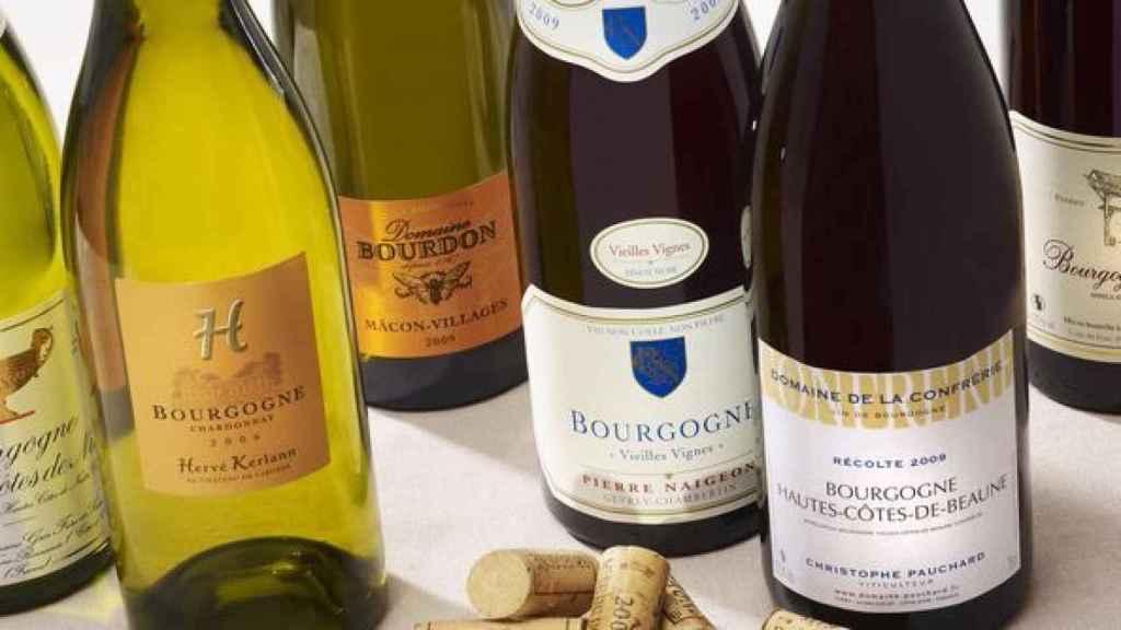 Botellas borgoñesas.