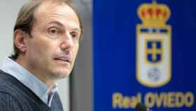 Francesc Arnau, en el Oviedo
