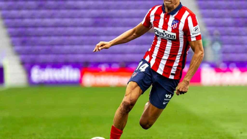 Marcos Llorente en el partido Valladolid -Atleti