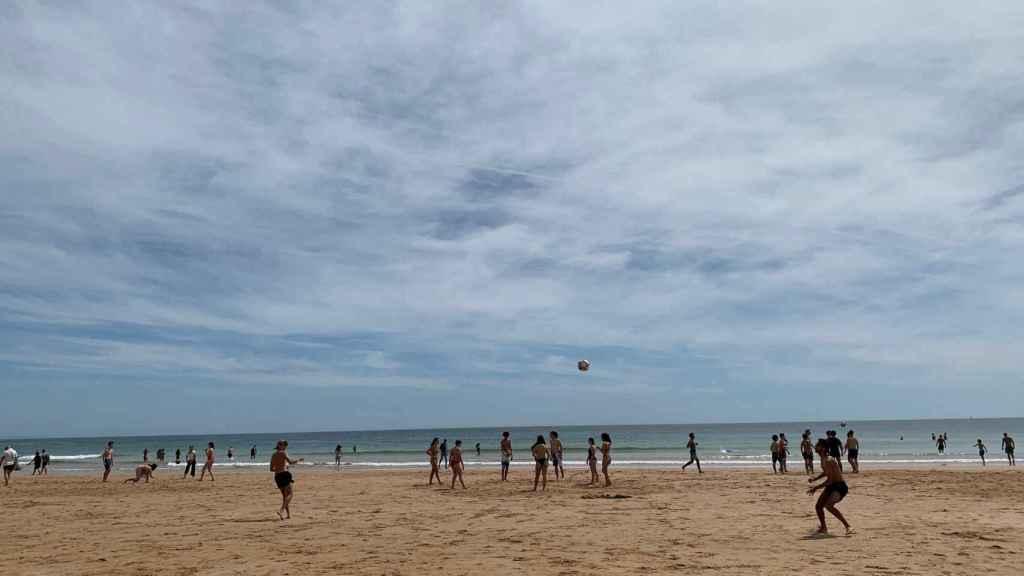 Una de las playas Portugal, esta semana.