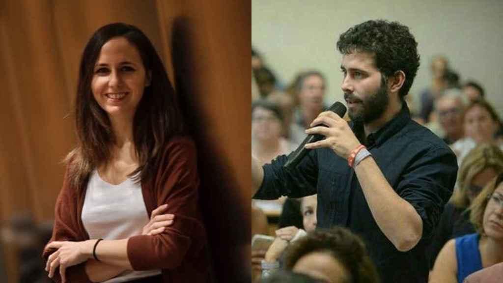 Ione Belarra y su pareja, Nacho Ramos