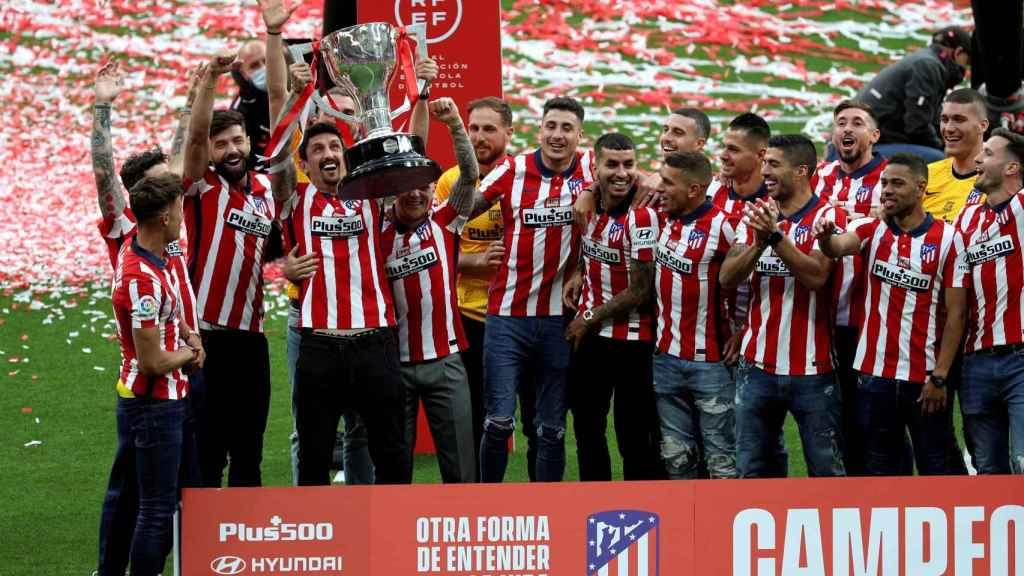 Savic levanta La Liga al cielo del Wanda Metropolitano