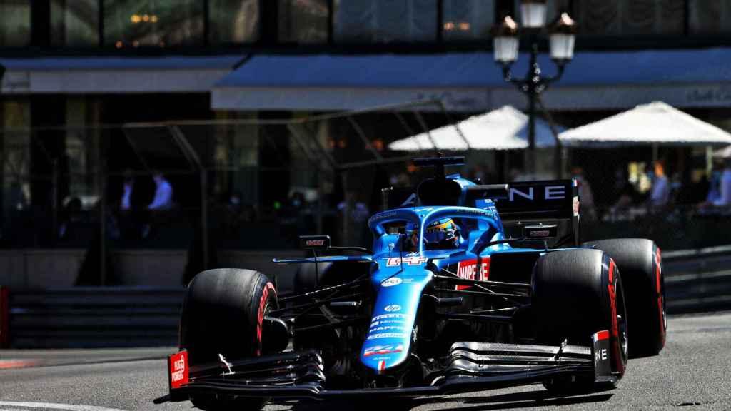 Fernando Alonso en el Gran Premio de Mónaco de Fórmula 1