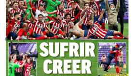 La portada del diario MARCA (23/05/2021)