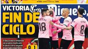 La portada del diario SPORT (23/05/2021)