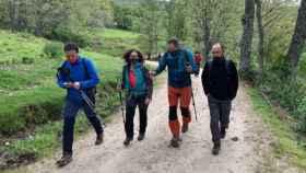 El consejero de Desarrollo Sostenible de Castilla-La Mancha, José Luis Escudero, participa este sábado en la ruta guiada Subida al pico Cerrón por el Valle del río Ermito