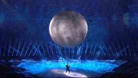 Blas Cantó durante su actuación en Eurovisión 2021. Foto: Captura TVE