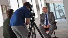 La prensa de Dinamarca se interesa por la novedosa Ley de Medidas contra la Despoblación de Castilla-La Mancha. Foto: Junta de Comunidades