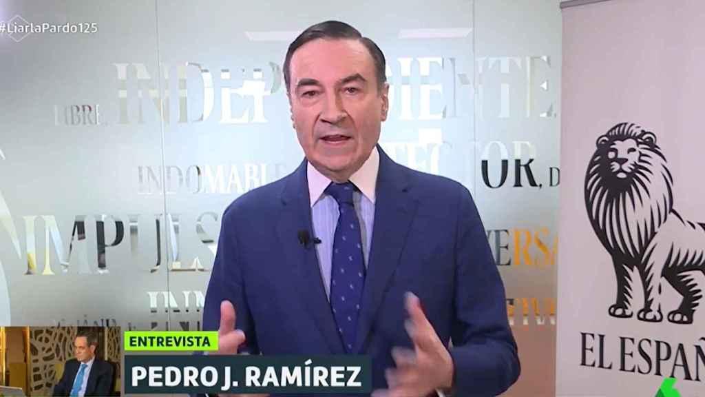 Pedro J. en La Sexta.