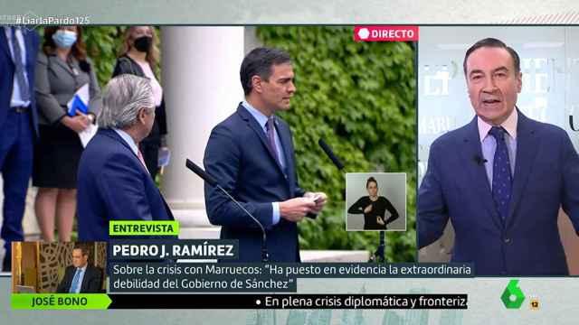 Pedro J  Ramírez: Se ha puesto en evidencia la extraordinaria debilidad del Gobierno de Sánchez