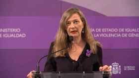 La delegada del Gobierno contra la Violencia de Género, Victoria Rosell. EP