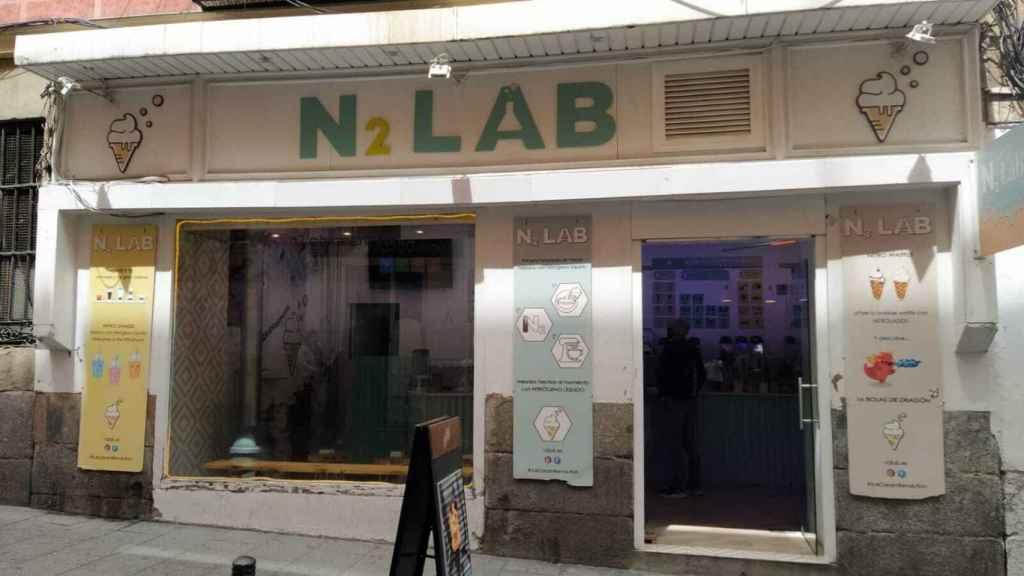 La heladería N2 Lab, situada en el número 5 de la calle Graviana.