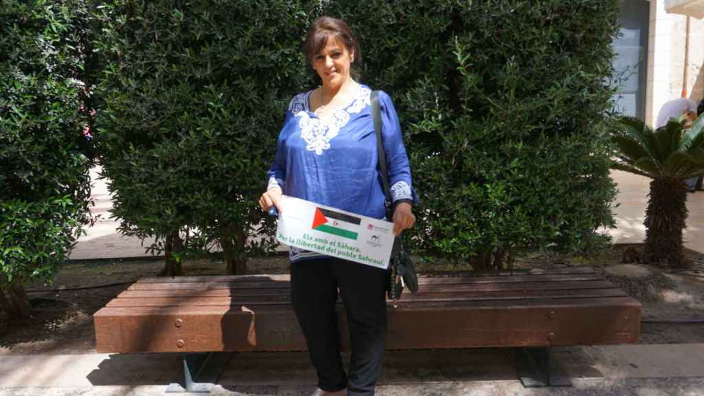 Ángela Carrillo, en imagen reciente.