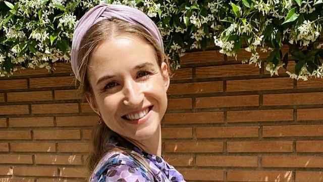 Alejandra Corsini, en una imagen compartida en su perfil de Instagram.