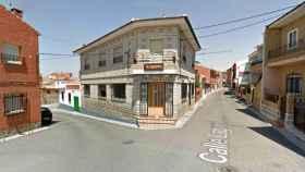 La fachada del estanco que ha sido atracado en Menasalbas (Google Maps)