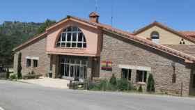 Albergue Provincial Fuente de las Tablas de Cuenca. Imagen de archivo