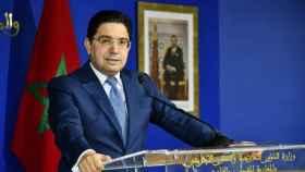 Naser Bourita, ministro de Asuntos Exteriores de Marruecos.