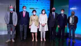 Foto de familia durante la presentación de la Alianza de Formación Profesional.