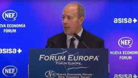 Juan Carlos Campo, ministro de Justicia, en el Nueva Economía Fórum.