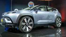 El Fisker Ocean, un coche 100% eléctrico sobre el que se basa el próximo 'papamóvil'.