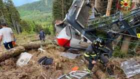Accidente de teleférico en Mottarone, Italia. Efe