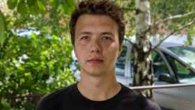 El periodista Raman Pratasevich, opositor bielorruso detenido en Minsk.