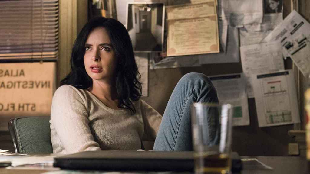 Krysten Ritter, en la serie 'Jessica Jones'.