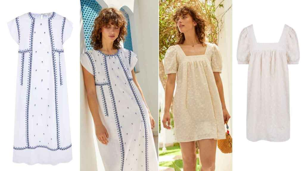 The firm's dresses recover their most Mediterranean style with this collection.