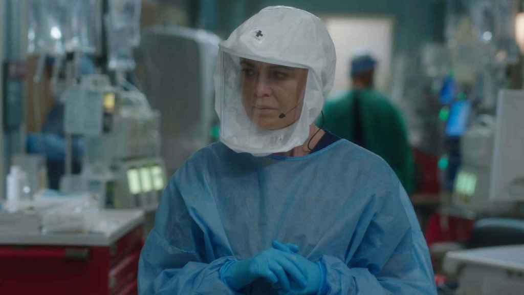 Meredith Grey en la 17.ª temporada de 'Anatomía de Grey'.