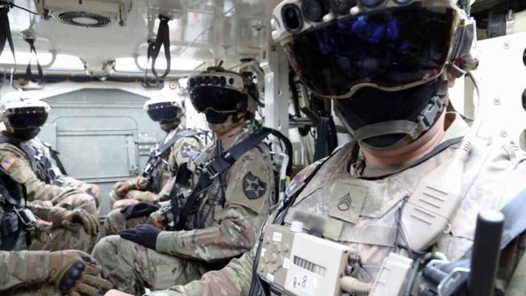 Gafas de realidad aumentada IVAS