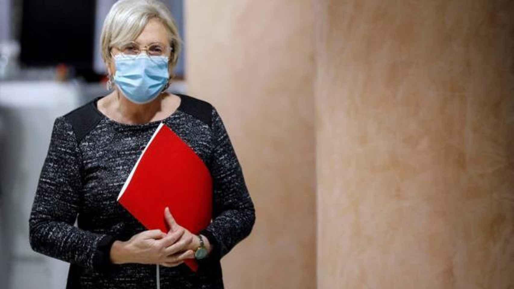 La consellera de Sanidad valenciana, Ana Barceló, en imagen de archivo.