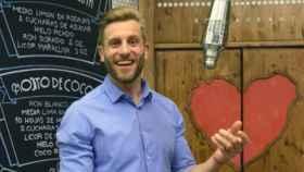 Matías Roure se dio a conocer en televisión como barman de 'First Dates'.