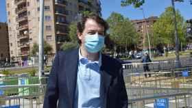 Vacunación Alfonso Fernández Mañueco - 1ª dosis - Salamanca 10