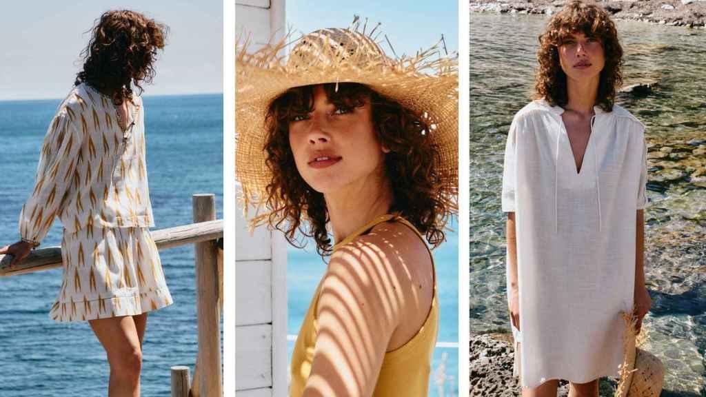 Hoss Intropia adelanta  los días de sol y playa  con su última colección.