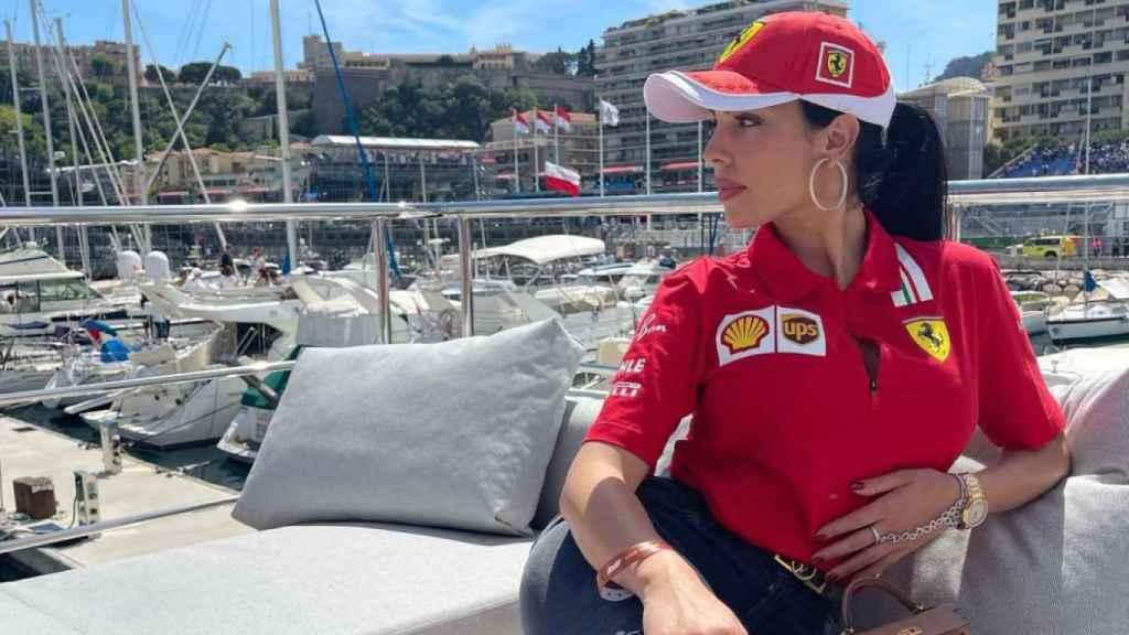 Georgina Rodríguez desde un exclusivo yate en Mónaco.
