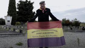 Josep Almudéver en el documental 'El último brigadista'