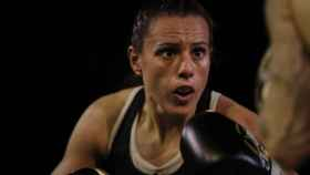 Joana Pastrana, en el Campeonato de Europa (EBU) de boxeo femenino