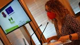 La portavoz del equipo de Gobierno en Ciudad Real, Sara Martínez