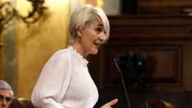Inés Cañizares en una de sus intervenciones en el Congreso de los Diputados (Foto: Vox)