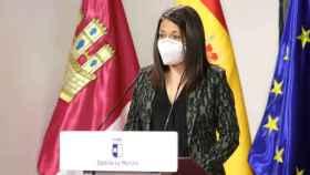Bárbara García, consejera de Bienestar Social de Castilla-La Mancha, en una imagen reciente