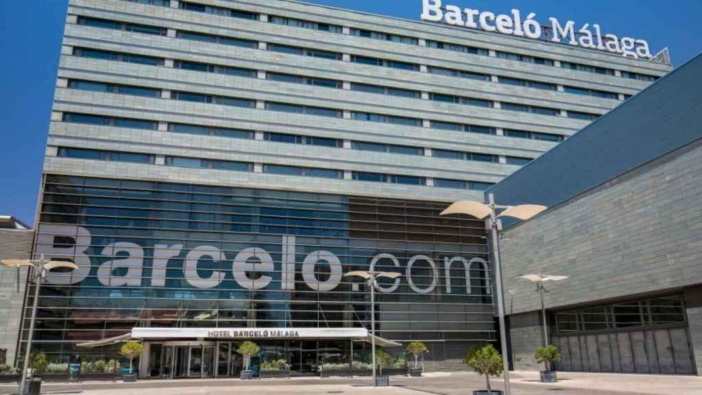 Imagen de archivo de la fachada de un hotel de Barceló.