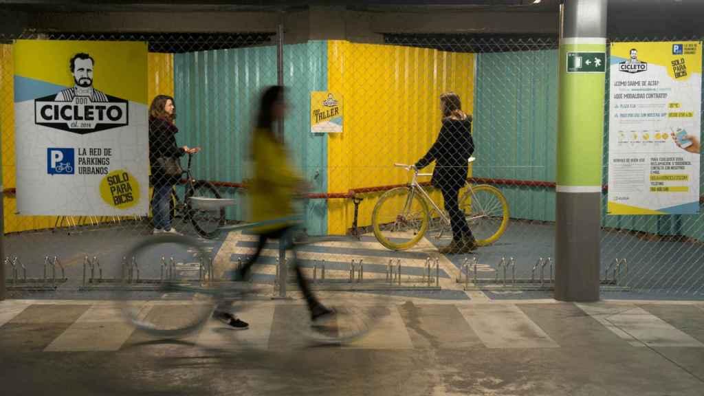 Imagen de una instalación de Don Cicleto.